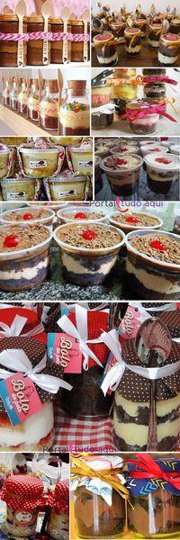 como fazer bolo em potes para vender e lucrar bastante-decoracao
