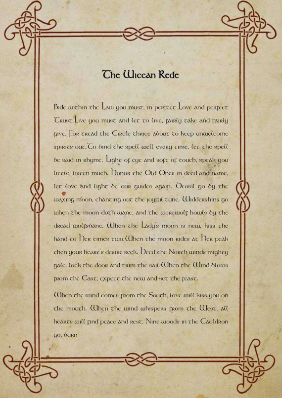 The Wiccan Rede Full Lenght