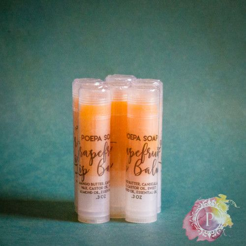 Vegan Luxury Essential Oil Balm from Poepa Soap