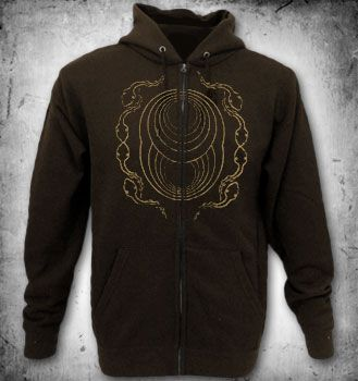 Rotten Sound,Cycles zip hoody,brown