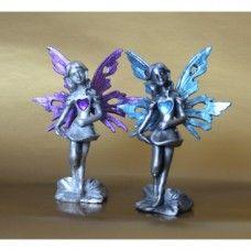 Anděl LÁSKY modrý a fialový - pár
