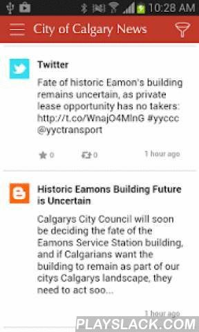 City Of Calgary News  Android App - playslack.com , OverviewStay on top of what's happening in your City with the free City of Calgary News app, linking you to City news, services, careers and more.News you can useConnect to The City of Calgary's news feed, blog, Twitter, Facebook and YouTube sites, so you can stay up-to-date with the latest City news – as it happens – in once easy, accessible and convenient place.Connect to City CareersWould working for The City of Calgary 'work' for you?…