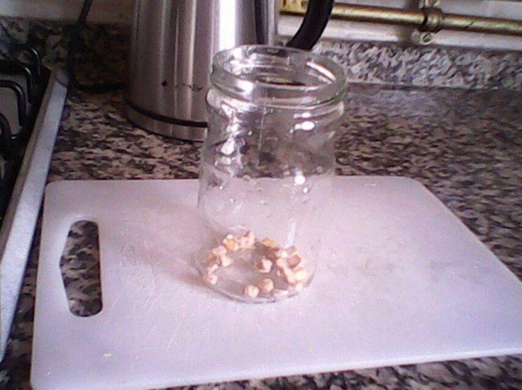 Nohut mayası (tatlı maya) hazırlama