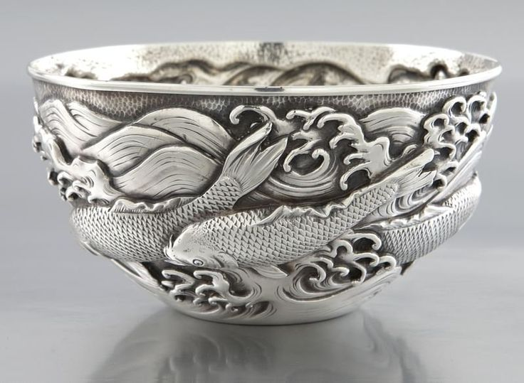 1000 images about chalices cups goblets and bowls on for Koi fish bowl