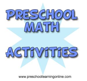 Simple Math Activities For Preschoolers. Easy ways to teach pre k children about math, counting and numbers. #preschool #prekmath #kids