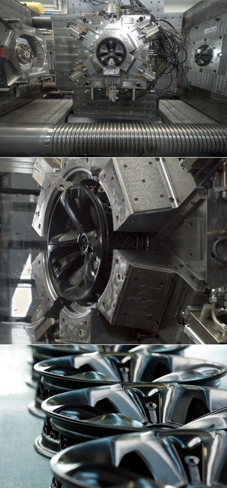 Pocket : BASF Develops Plastic, Injection-Molded Automotive Rims
