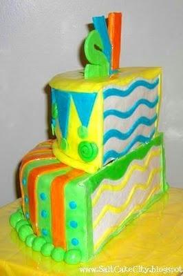 Half birthday cake, yes I do celebrate it :)