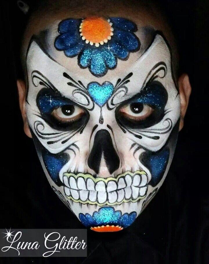 AMAZING sugar skull - Ronnie Mena