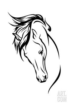 Stallion Art Print by Cattallina at Art.com