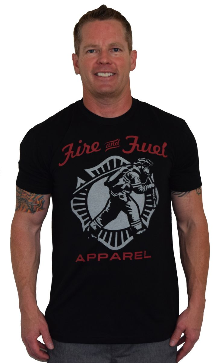 24 best men 39 s firefighter fitness wear images on pinterest for Get shirts made fast