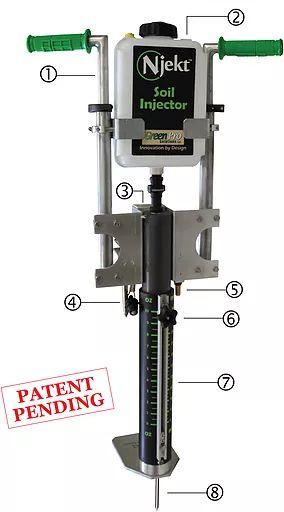 Njekt Soil Injector: Model NT 700