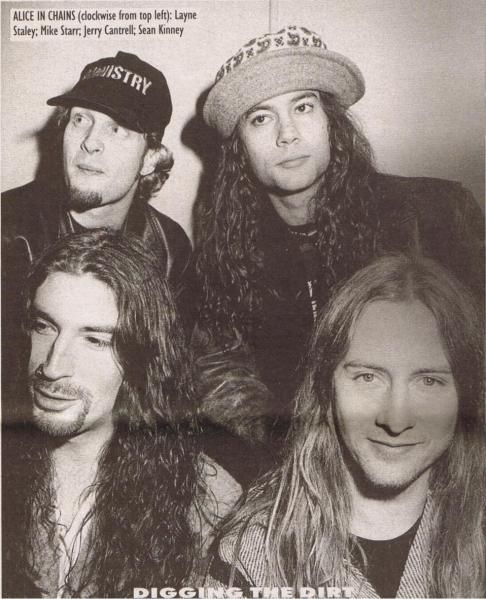 Today would be Layne Staley's 49th birthday… On this sad occasion let me quote Jerry Cantrell talking about the way he was coping with the death of his bandmate. Alice In Chains guitari…