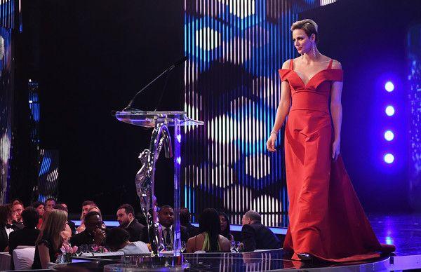 Princess of Monaco Photos - Charlene,Princess of Monaco on stage during the 2017 Laureus World Sports Awards at the Salle des Etoiles,Sporting Monte Carlo on February 14, 2017 in Monaco, Monaco. - Show - 2017 Laureus World Sports Awards - Monaco