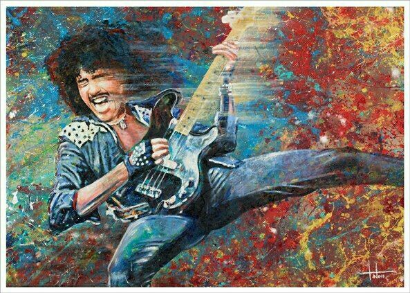 Thin Lizzy: Awesome Phil Lynott Artwork.