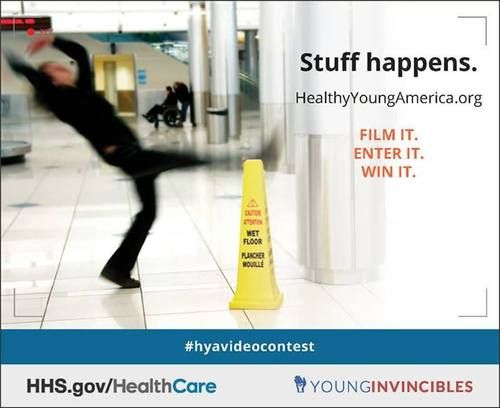 Enter your video in the Healthy Young America video contest and tell us why everyone needs health insurance. Film it, Enter it, Win it. To submit your video, visit: http://health.younginvincibles.org/video-contest/  #health #healthcare #health insurance #video contest #healthyyoungamerica #younginvicibles #hyavideocontest #motivation