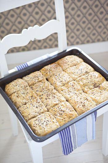 Hildas hem: Att baka bröd på måfå