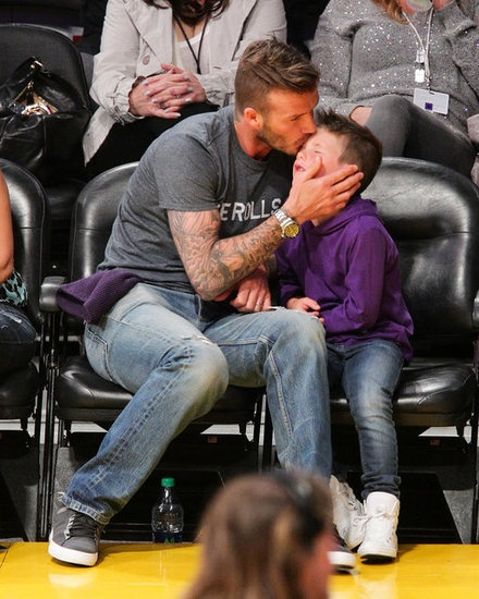 I didn't think David Beckham could get any hotter until I saw this pic.
