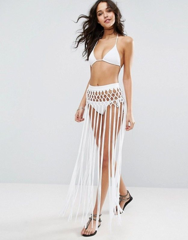 Turn heads with this beach skirt sarong: | 17 Must-Have Items To Make Spring Break Fashion Your Beach