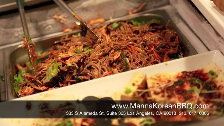 Where to eat the Best Korean Barbecue in Los Angeles? | Manna Korean BBQ...