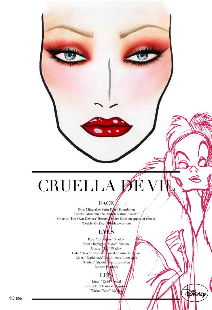 www.RICHIENICKEL.com: Cruella De Vil Makeup @ M.A.C Venomous Villains Blogger Event