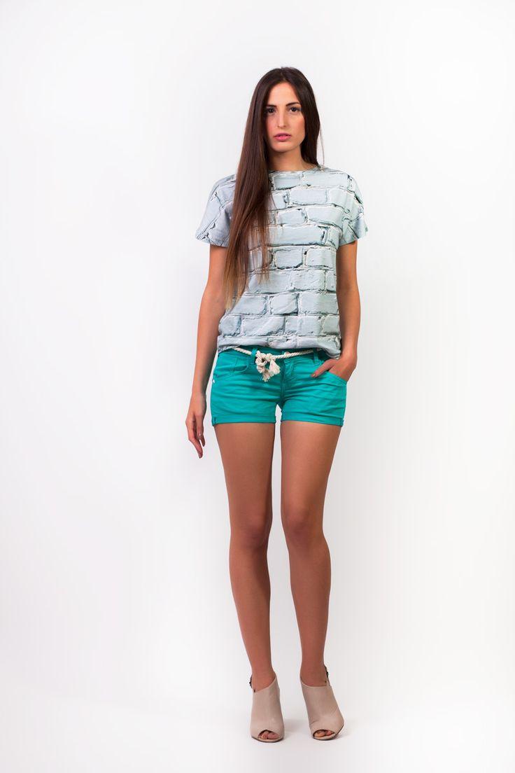 Seagreen shorts