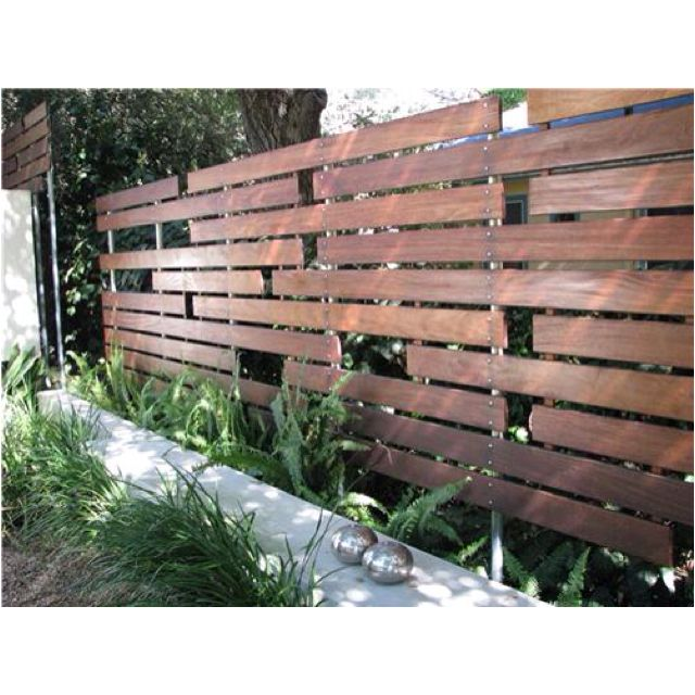 Future variation of my privacy fence!
