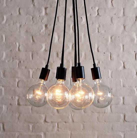 Hanging bulb fixture