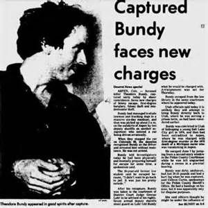 Applied criminological analysis of ted bundy