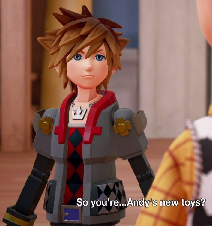 Anything kingdom hearts related these days gets me really excited