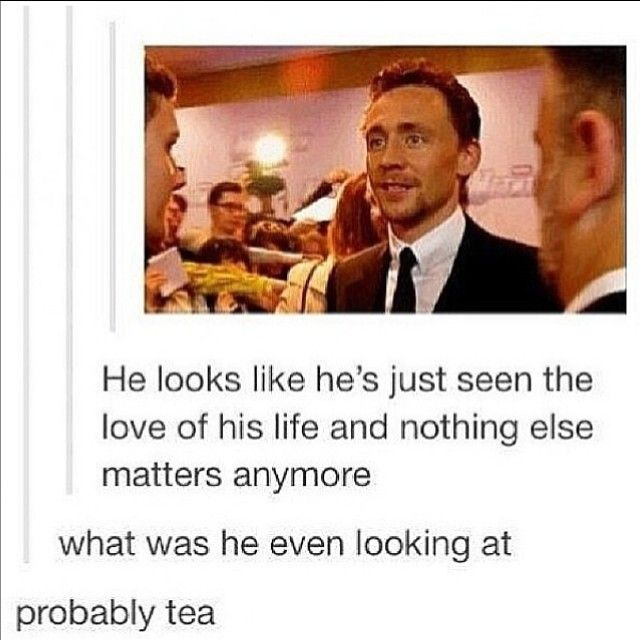 THiddles line of posts  #tomhiddleston