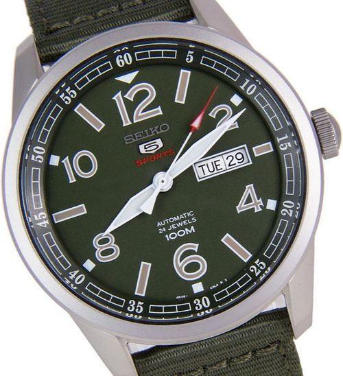 Seiko 5 Sports Automatic Men's Watch SRP621K1 - In Stock, Free Next Day Delivery, Our Price: £149.99, Buy Online Now