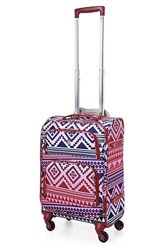 Carry-on Luggage Collections | Aerolite 22x14x9 Carry On MAX Lightweight Upright Travel Trolley Bags Luggage Suitcase 4 Wheel Spinner Maximum Allowance Approved for Delta South West American Airlines >>> Details can be found by clicking on the image. Note:It is Affiliate Link to Amazon.