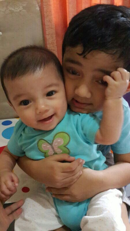 Abbiy and his second brother aditya