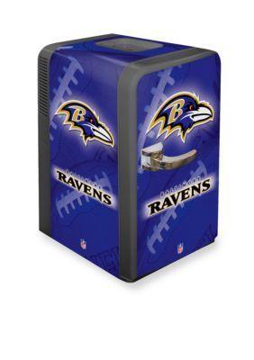 Boelter  NFL Ravens Portable Party Refrigerator
