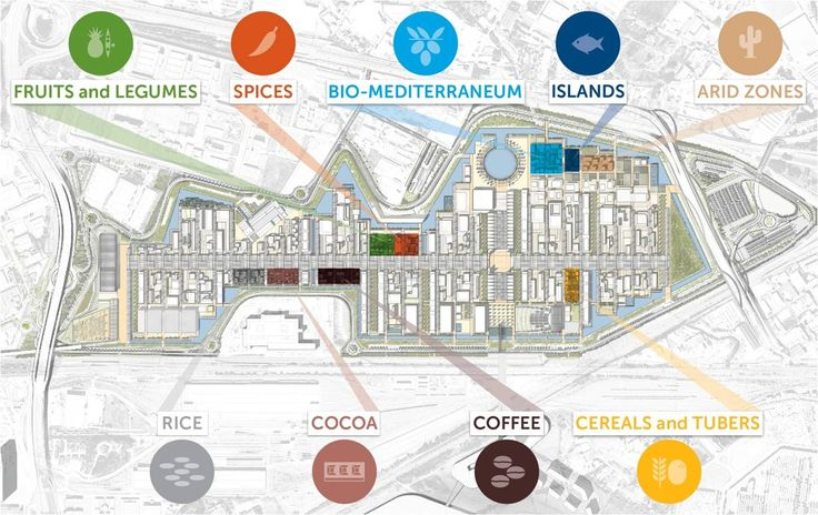 EXPO 2015 - I Clusters