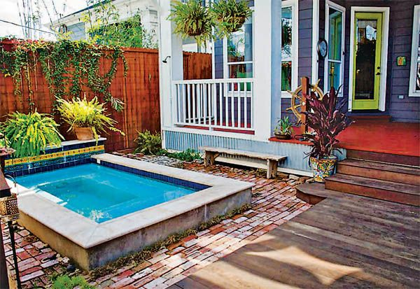 #cottage #backyard small #pool