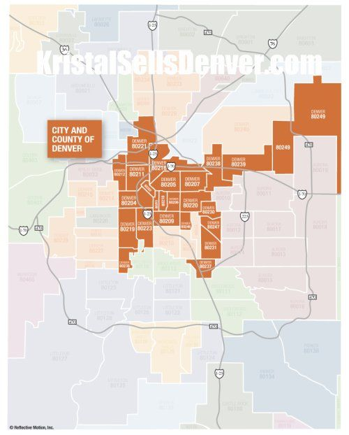 City And County Of Denver Real Estate Report By Zip Code