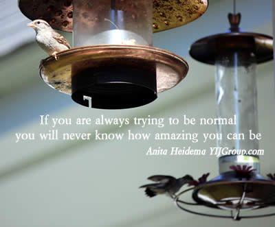 Be amazing!!!