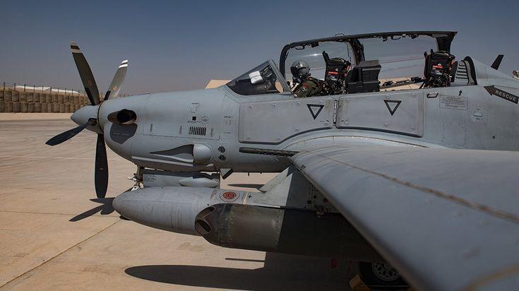 Afghan Air Force Embraer A-29B Super Tucano