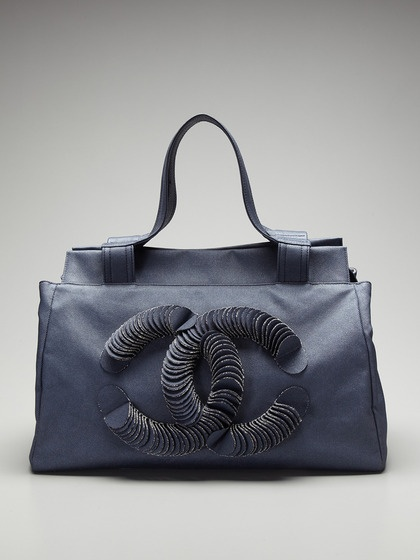Chanel 3-D Fringe CC Tote by Chanel on Gilt.com