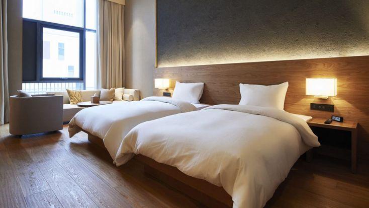 Inside #Muji's new 'anti-#gorgeous' #hotel in Shenzhen, #China - http://cnn.it/2ELphqD @CNN #business #minimalism #bedroom #art #artwork #prints #interiors #design #style #decor #homeware #home #house #japan #styling #wallart #world #travel #instagood #love #shop #gift