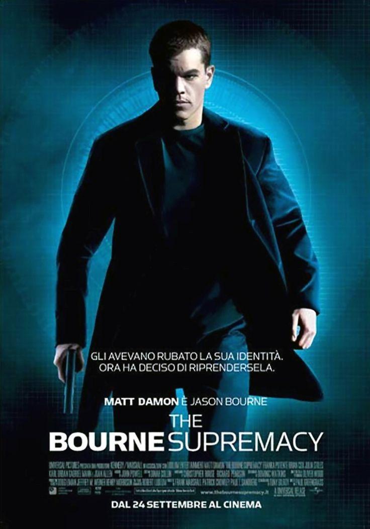 cover maniak!: The Bourne Supremacy (USA 2004)