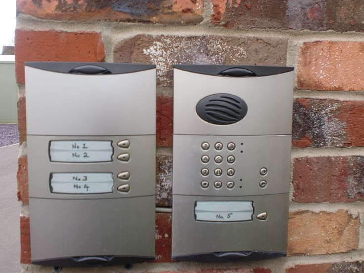 Add an intercom and keypad to your gate