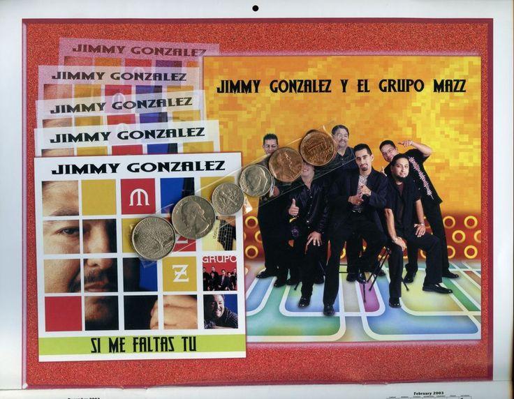 KXTN TEJANO Radio 2003 calendar, Bobby Pulido, Jimmy Gonzalez, Vida, Desperadoz