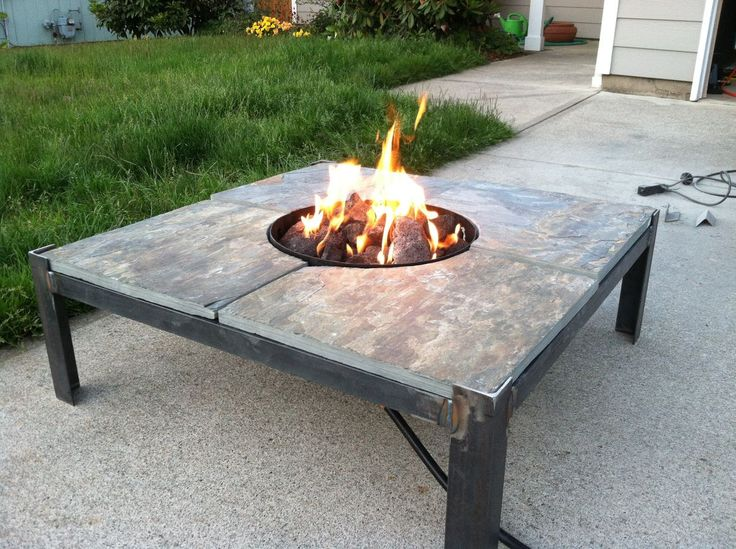 7 best images about welding on pinterest mesas venison for Fire pit project