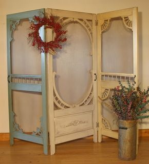 screen door room dividers - Google Search                                                                                                                                                     More