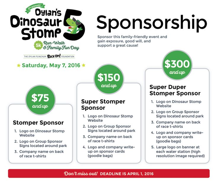 how to make a sponsorship package