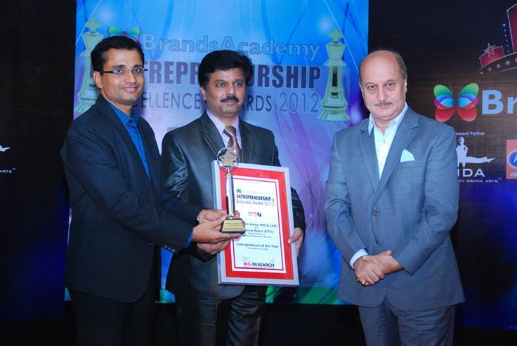 Mr. Kailash Katkar (MD & CEO)  and  Mr. Sanjay Katkar (CTO), Founder Directors, Quickheal Technologies Pvt. Ltd.
