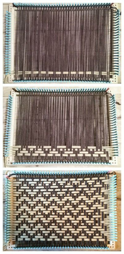 How to Weave Placemats on a Loom | www.petalstopicots.com |