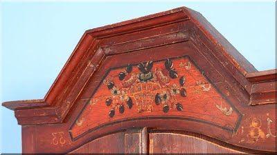 festett bútor, antik bútor